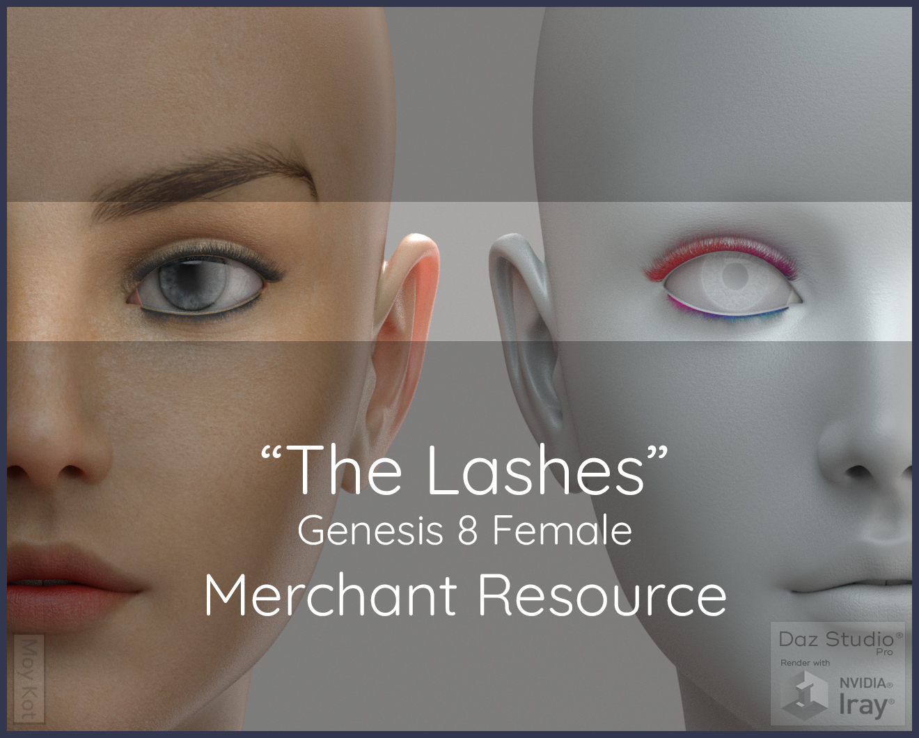 MYKT The Lashes Genesis 8 Female - Merchant Resource by ColorGaleria