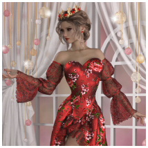 dForce - Queen of Hearts for G8F image 1
