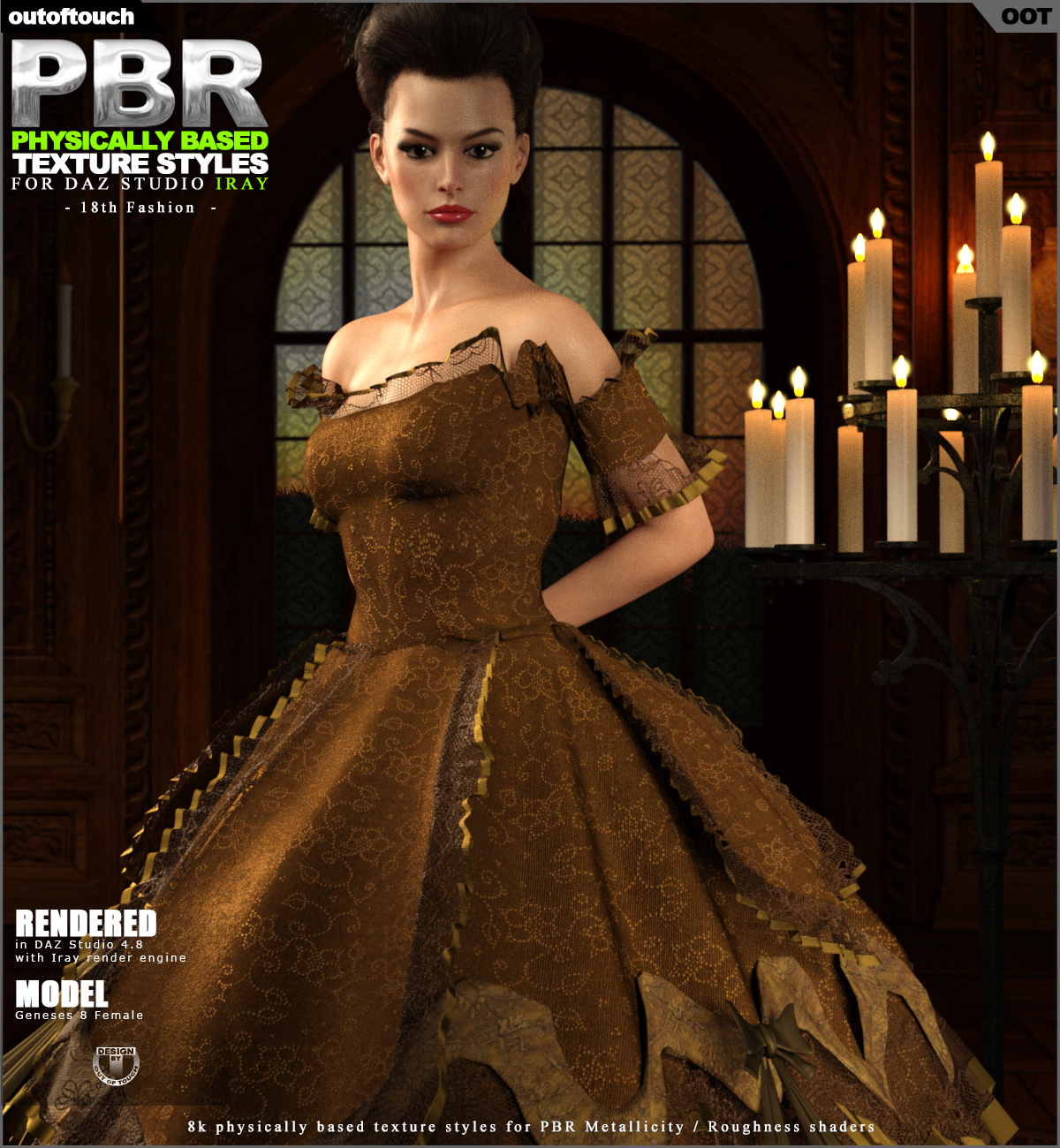 OOT PBR Texture Styles for 18th Fashion