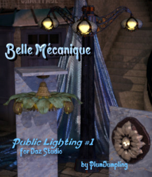 Belle Mecanique Public Lighting 1 for DS 3D Models PlumDumpling