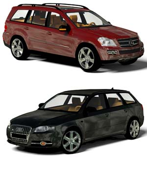 Budget SUV 3D Models willyb53