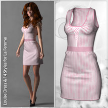 Louise Dress and 14 Styles for La Femme image 1
