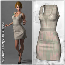 Louise Dress and 14 Styles for La Femme image 2