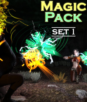 Magic Pack - Set 1 3D Figure Assets powerage