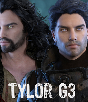 Tylor Genesis 3 Male - Extended License 3D Figure Assets Extended Licenses RPublishing