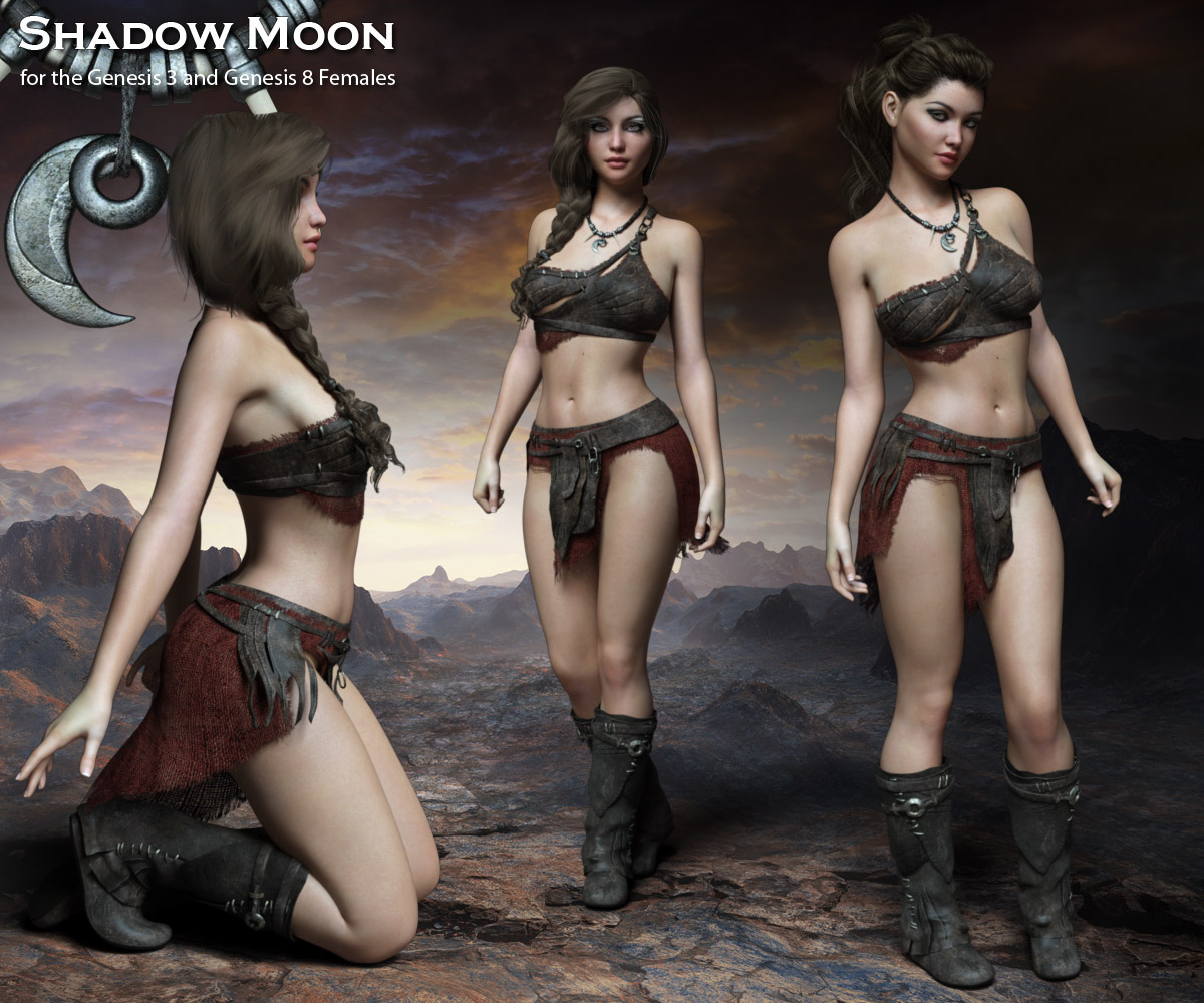 Shadow Moon for the G3 and G8 Females - Extended License
