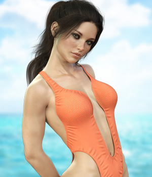 X-Fashion Styling Bathsuit for Genesis 8 Females 3D Figure Assets xtrart-3d