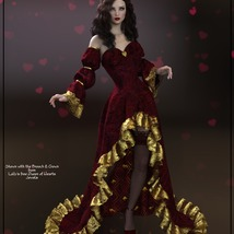 Epic: dForce - Queen of Hearts for G8F image 1
