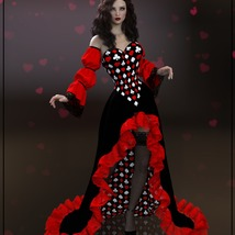 Epic: dForce - Queen of Hearts for G8F image 3