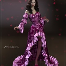 Epic: dForce - Queen of Hearts for G8F image 6