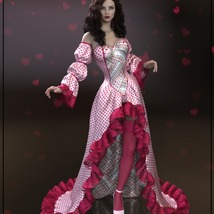 Epic: dForce - Queen of Hearts for G8F image 7