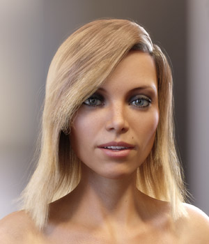 Skye Hair for Genesis 3 and 8 Females