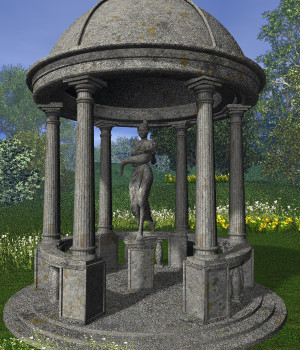 Temple of Gaea for Bryce 3D Models judyk