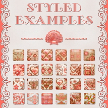 Living Coral JEWELED PS Layer Styles image 3