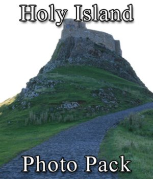 Holy Island Photo Set 2D Graphics VanishingPoint