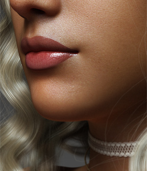 Natural Lips Morphs for G8F Vol 1 3D Figure Assets Merchant Resources Anagord