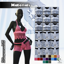JMR dForce See-through Lace Underwear for G8F image 6