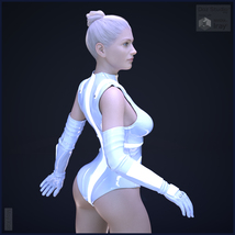 Lily Flower for Genesis 8 Female image 5