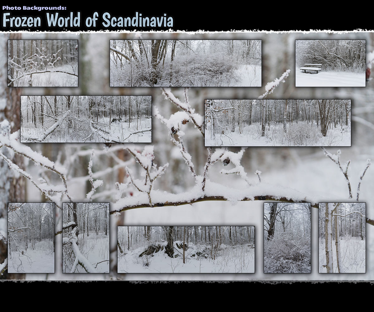 Photo Backgrounds: Frozen World of Scandinavia