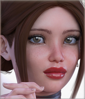 TDT-Anfisa for Genesis 3 Female 3D Figure Assets Deva3D