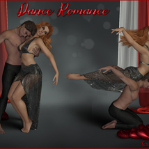 Dance Romance - Poses for G3 and G8 M-F image 5