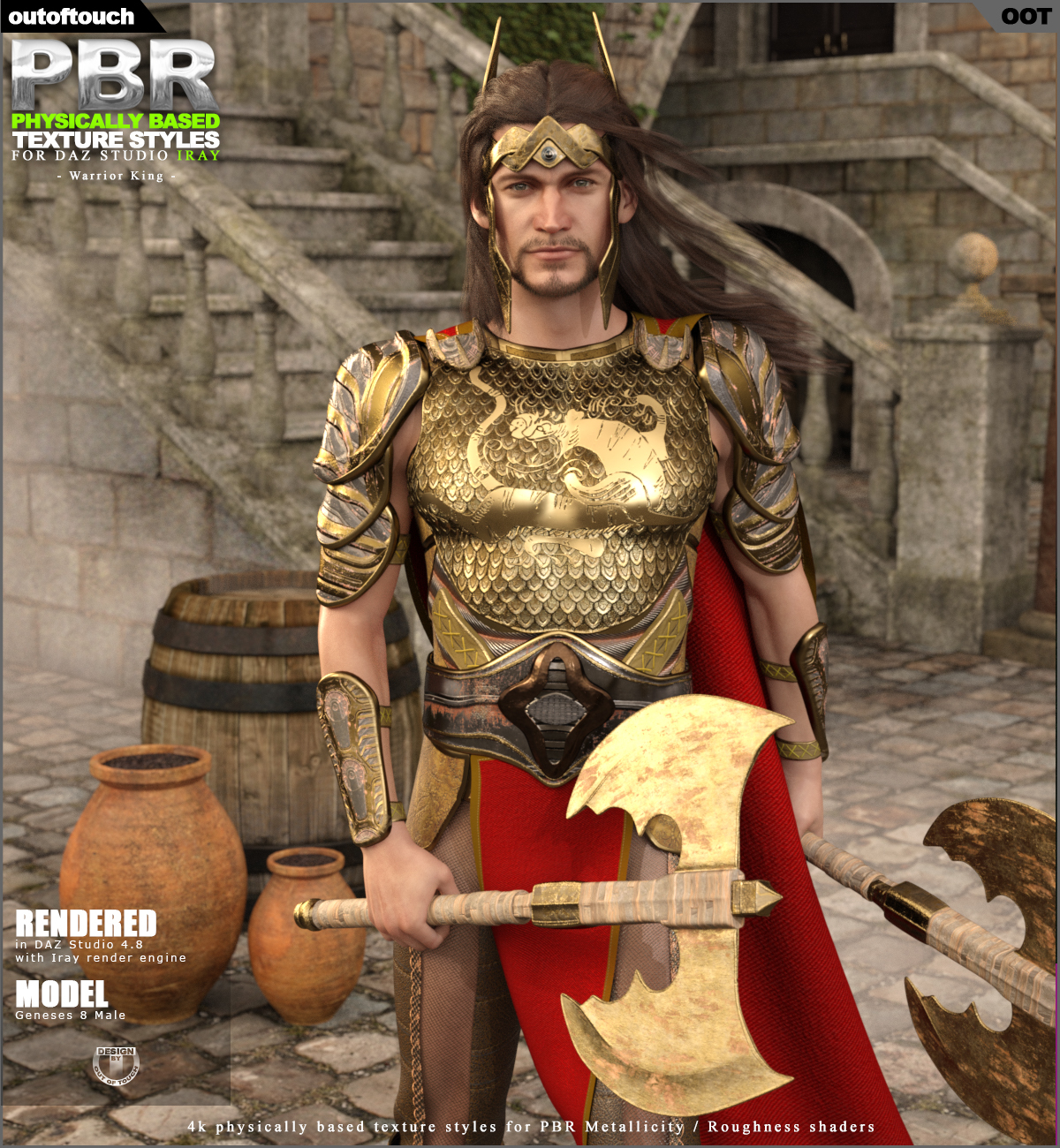 OOT PBR Texture Styles for Warrior King
