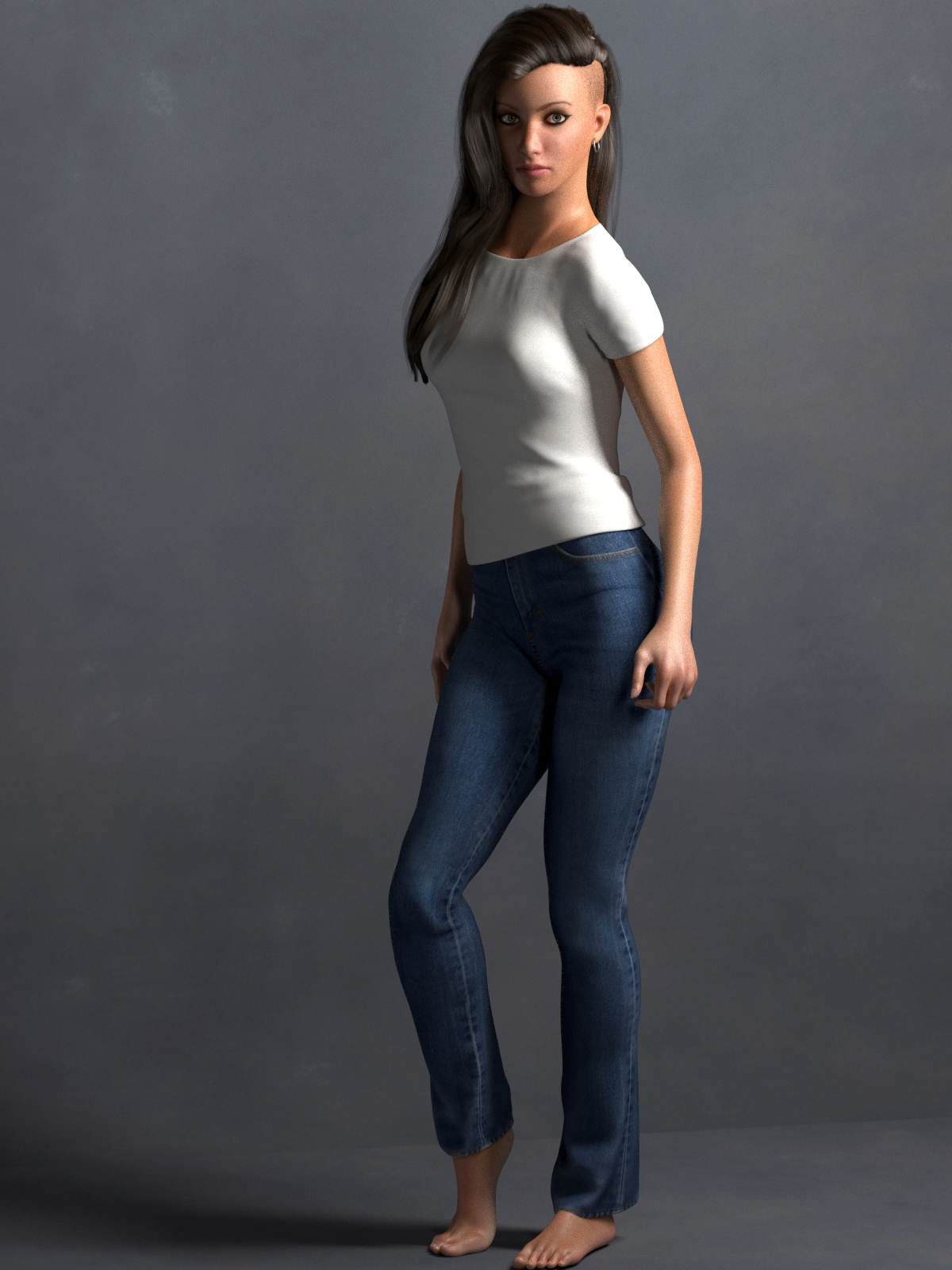 La Femme TShirt and Jeans