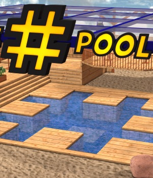 The Hashtag Pool  for Poser 7+  3D Models DexPac