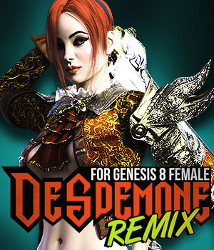 Desdemone REMIX for G8F 3D Figure Assets powerage