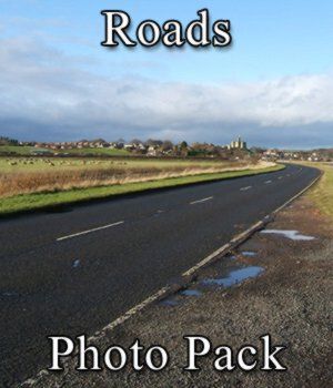 Roads Photo Set 2D Graphics VanishingPoint
