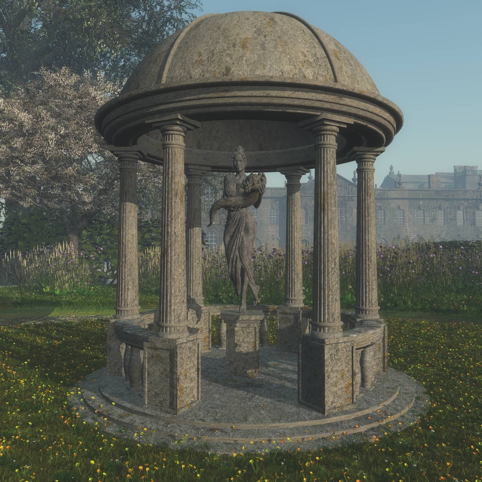 Temple of Gaea for Vue