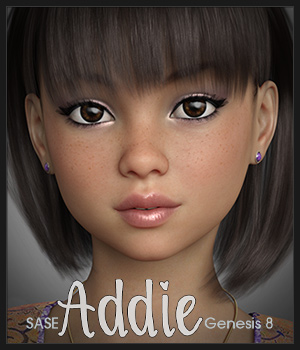 SASE Addie for G8 3D Figure Assets Sabby