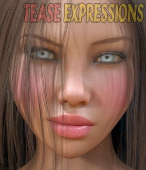 Tease - Expressions for Genesis 3 and Genesis 8 3D Figure Assets hameleon