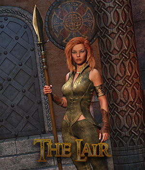 The Lair 3D Figure Assets 3D Models La Femme - LHomme Poser Figures RPublishing