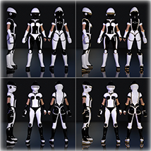 SciFi Cosplay One for G8F image 5