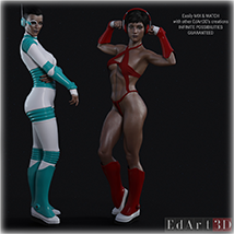 SciFi Cosplay One for G8F image 9