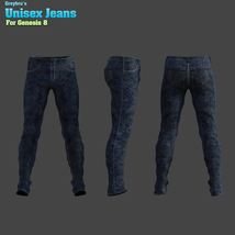 Greybro's Unisex Jeans for G8 image 1