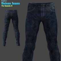 Greybro's Unisex Jeans for G8 image 2