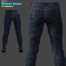 Greybro's Unisex Jeans for G8 image 3