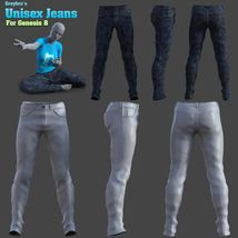Greybro's Unisex Jeans for G8 image 5