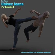 Greybro's Unisex Jeans for G8 image 8
