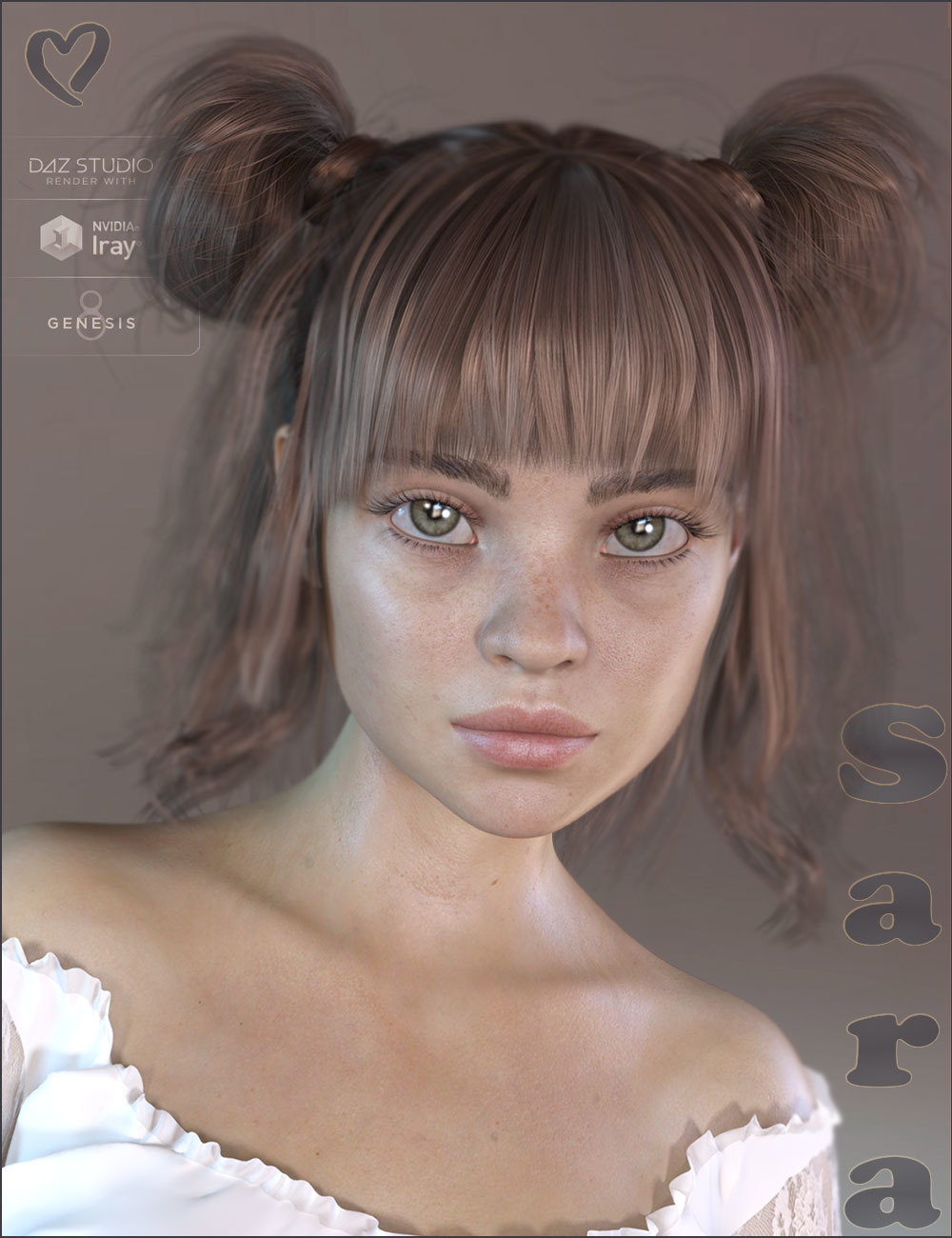 TDT-Sara for Genesis 8 Female by Deva3D