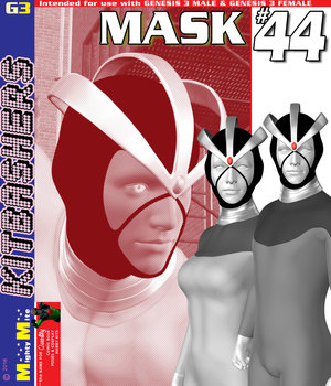 Mask 044 MMKBG3 3D Figure Assets MightyMite