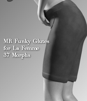 MR Funky Glutes for La Femme 3D Figure Assets La Femme Pro - Female Poser Figure Merchant Resources Karth