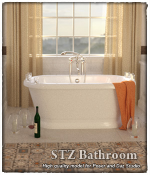 STZ Bathroom 3D Models santuziy78