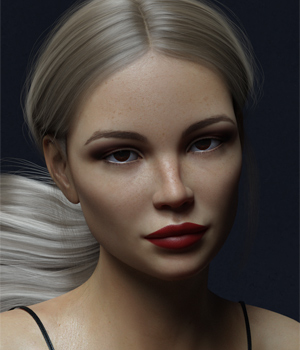 Inna G8F and V8 3D Figure Assets -Valkyrie-