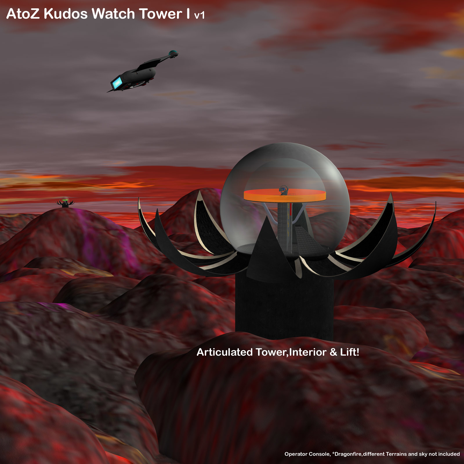 AtoZ Kudos Watch Tower I v1