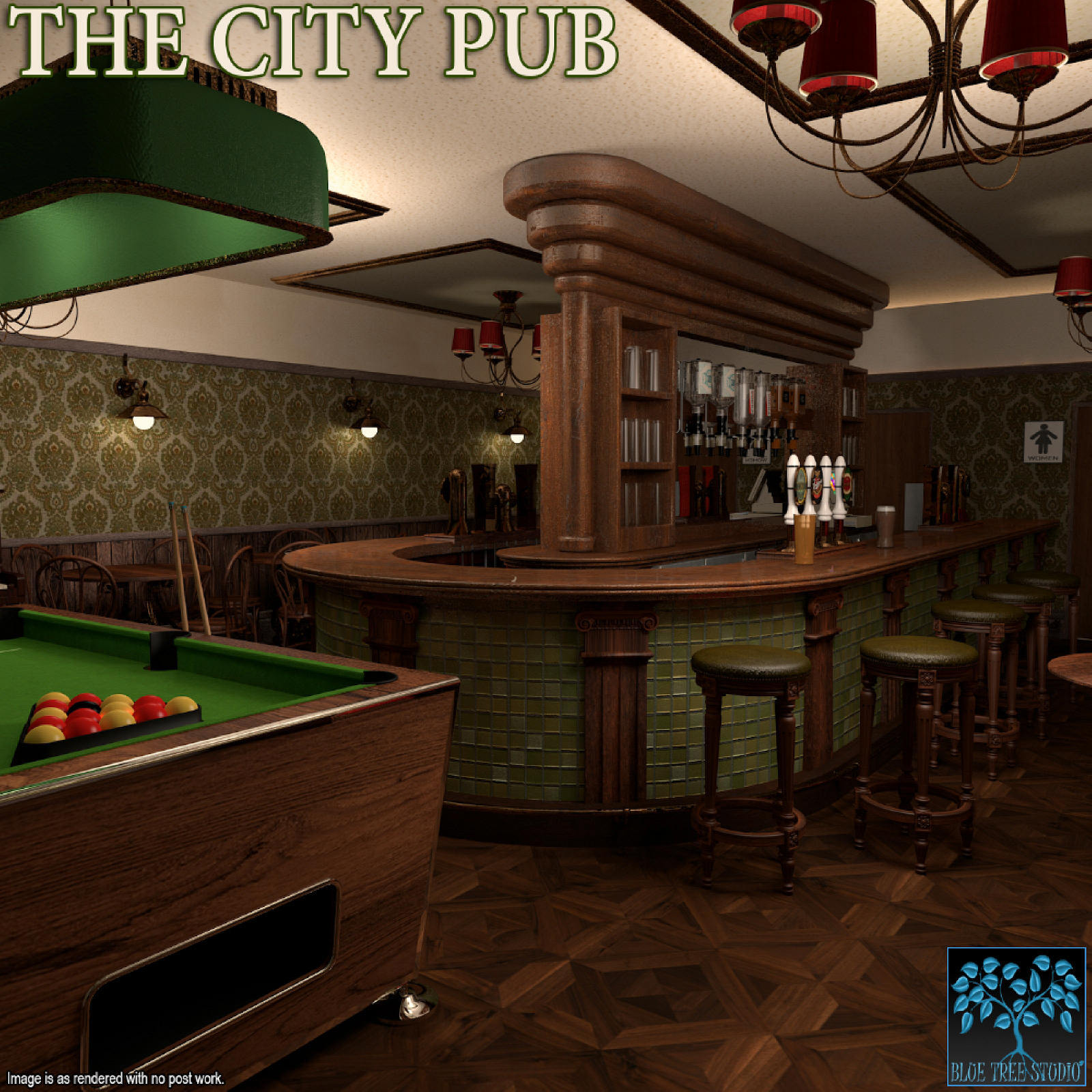 The City Pub for Poser by BlueTreeStudio