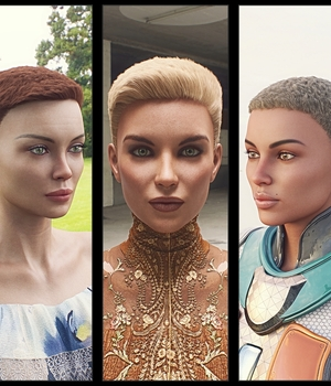 Neat Haircut Hair For Genesis 8 Female 3D Figure Assets Kungh