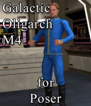 Galactic Oligarch M4 for Poser 3D Figure Assets VanishingPoint